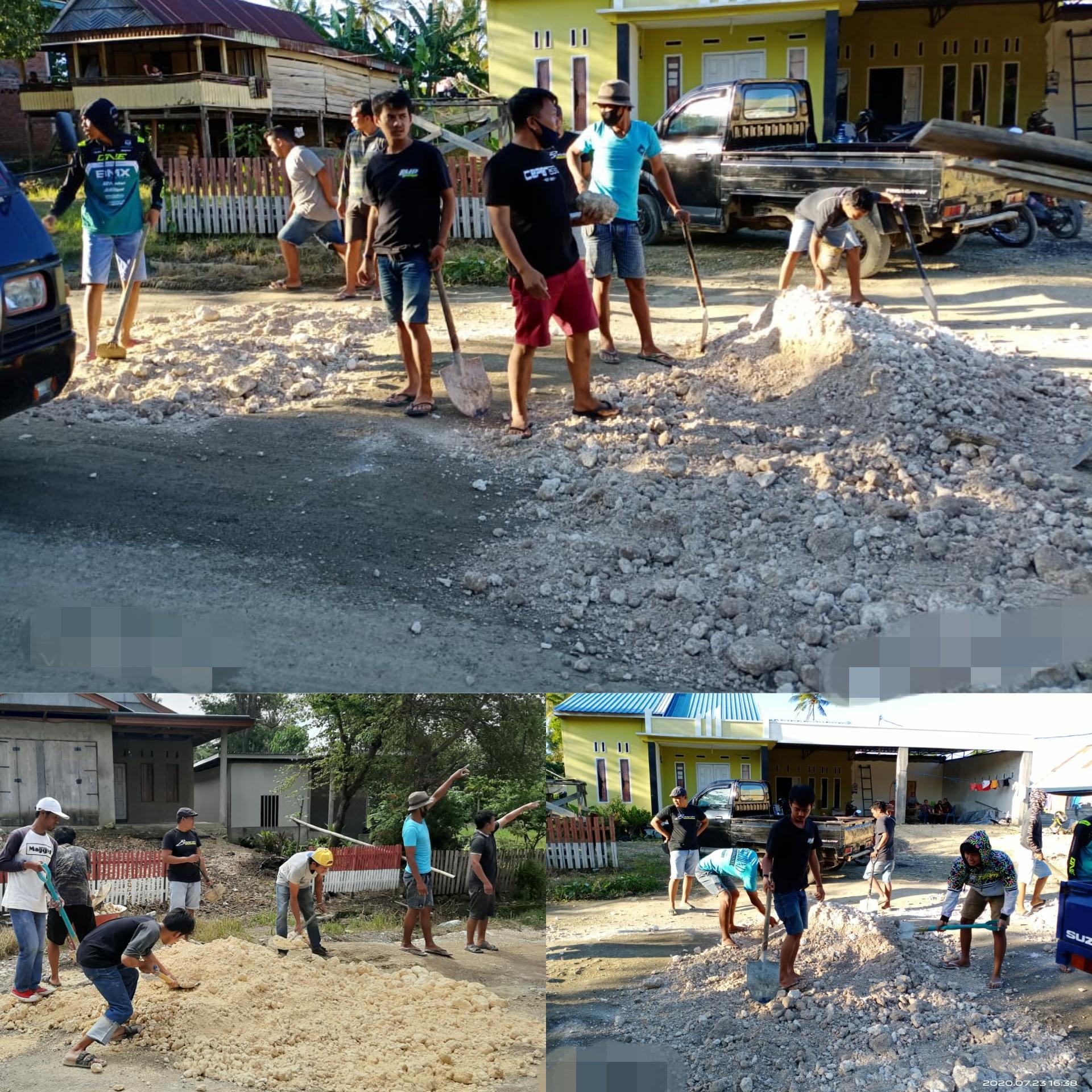 Komunitas Askopbar Tambal Jalan Rusak, Nisrandiali: Untuk ...